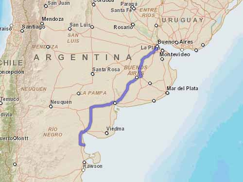 Como llegar a Playas Doradas desde la Ciudad Autonoma de Buenos Aires