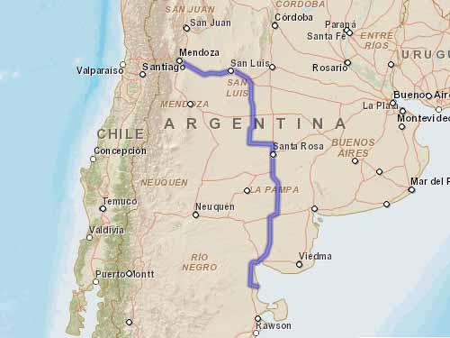Como llegar a Playas Doradas desde Mendoza