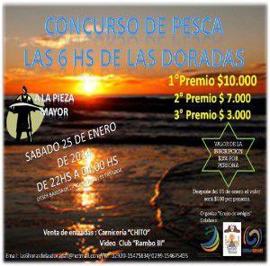 """Concurso de pesca """"Las 6 HS de las Doradas"""""""