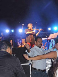 Peteco Carabajal en la Fiesta Nacional de Playas Doradas